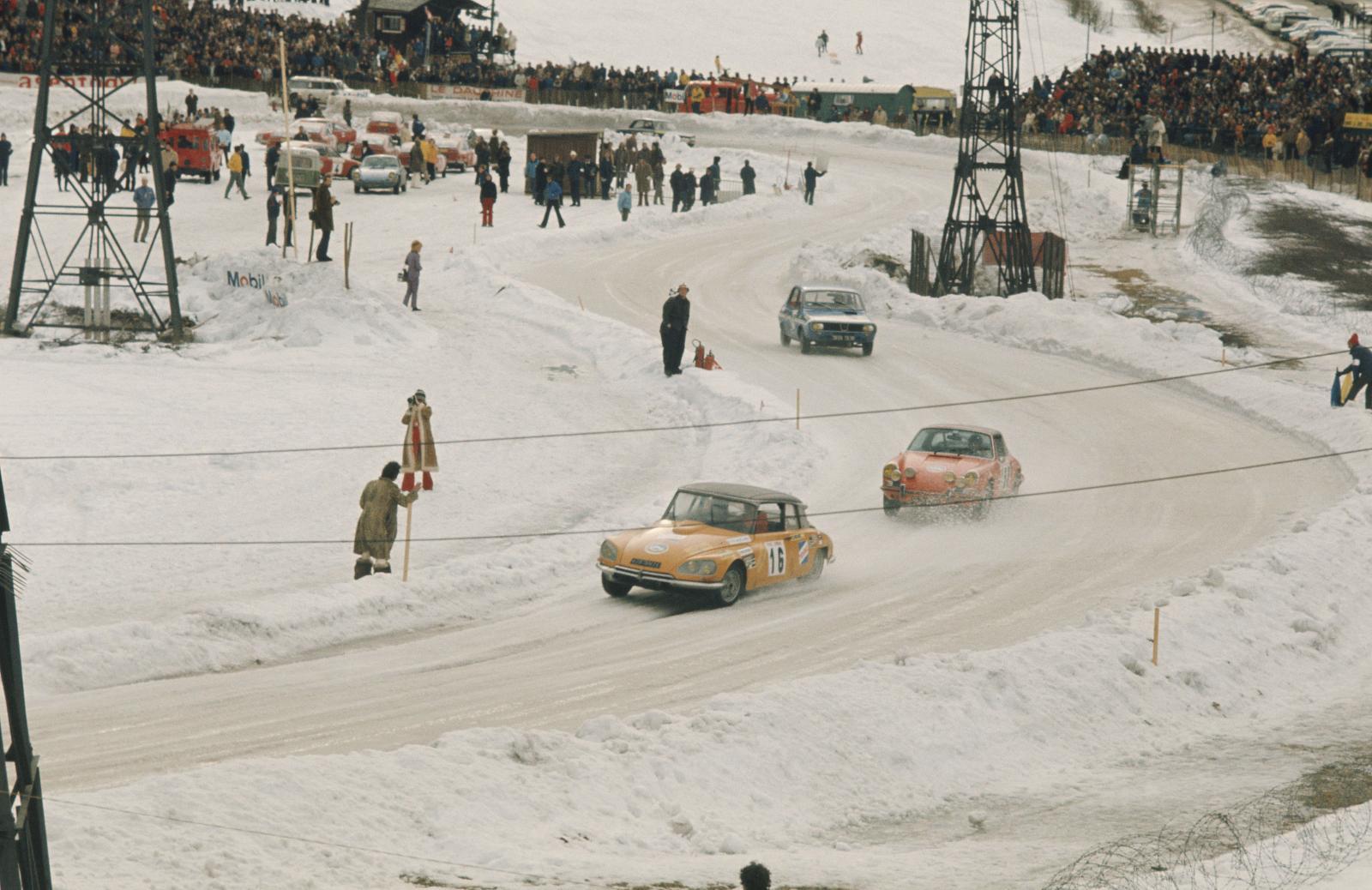 シャモニー冬季氷上ラウンドレース - DS 21 - 1972年