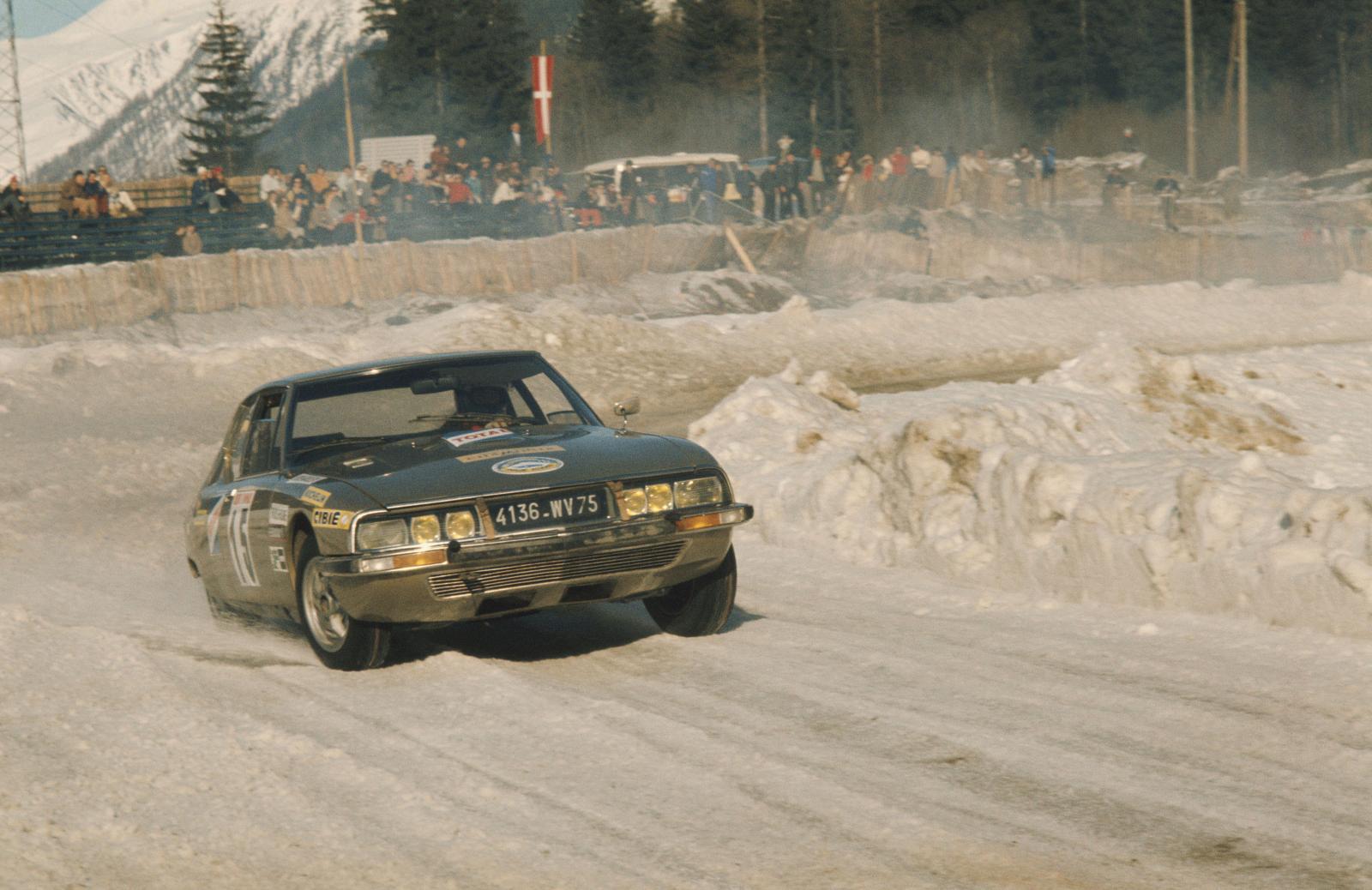 シャモニー冬季氷上ラウンドレース - SM - 1972年