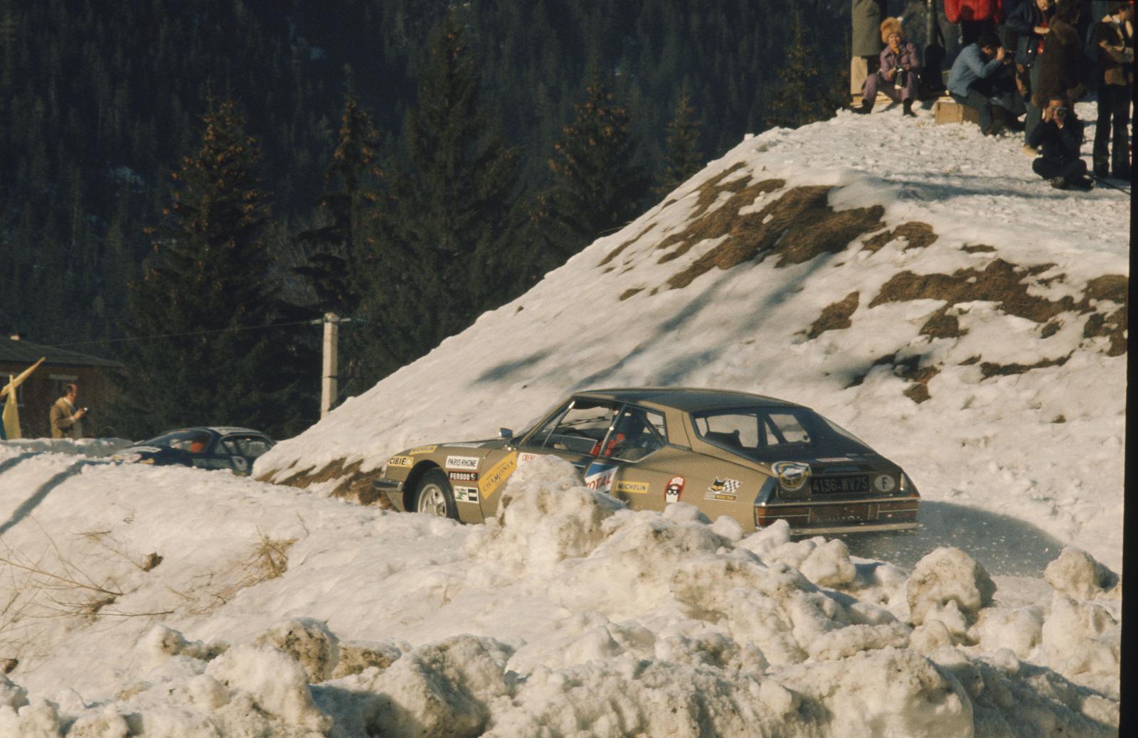 シャモニー冬季氷上ラウンドレース - SM - 1972年 - リアビュー