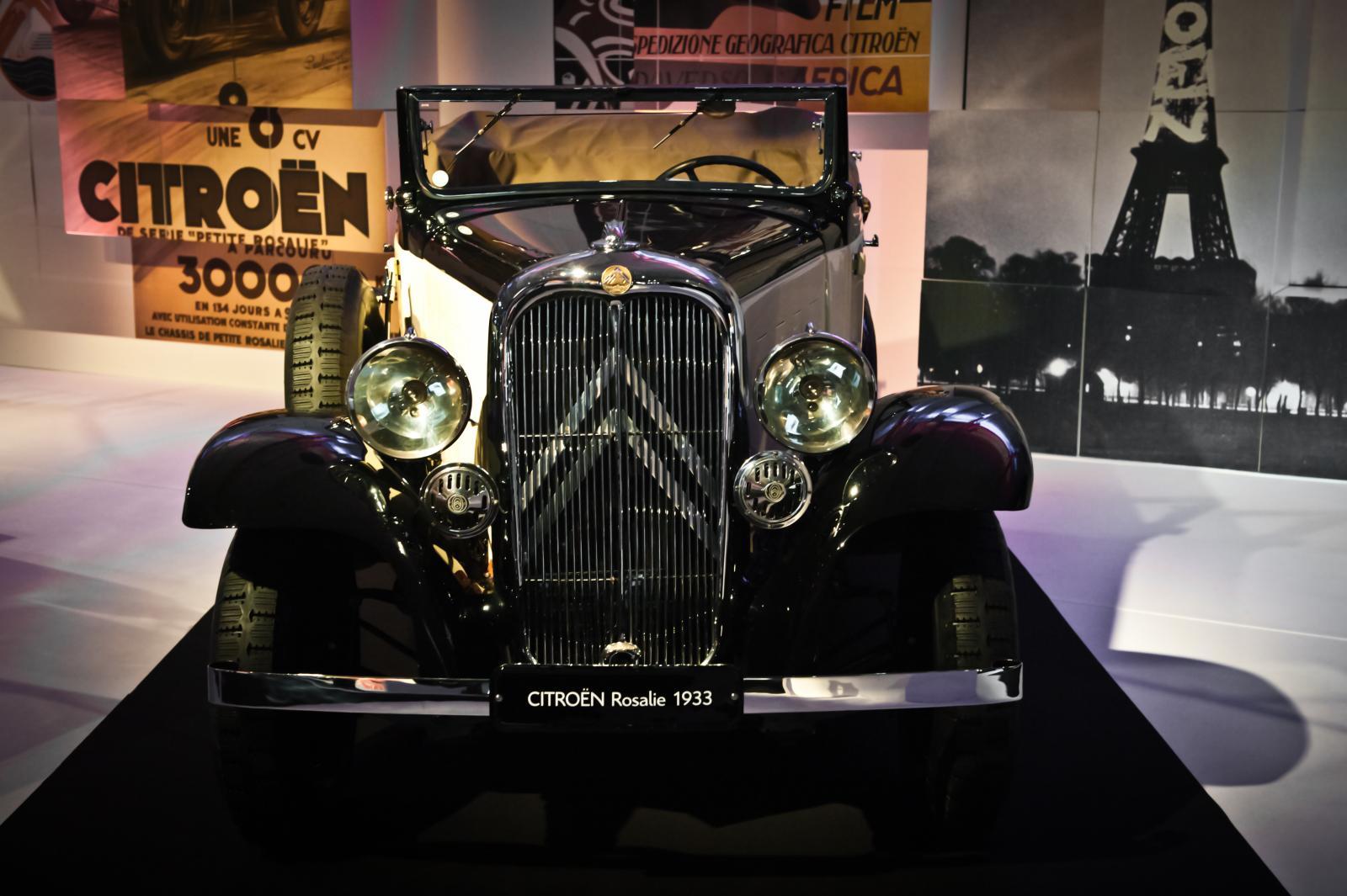 Rosalie 10 AL Cabriolet 1933