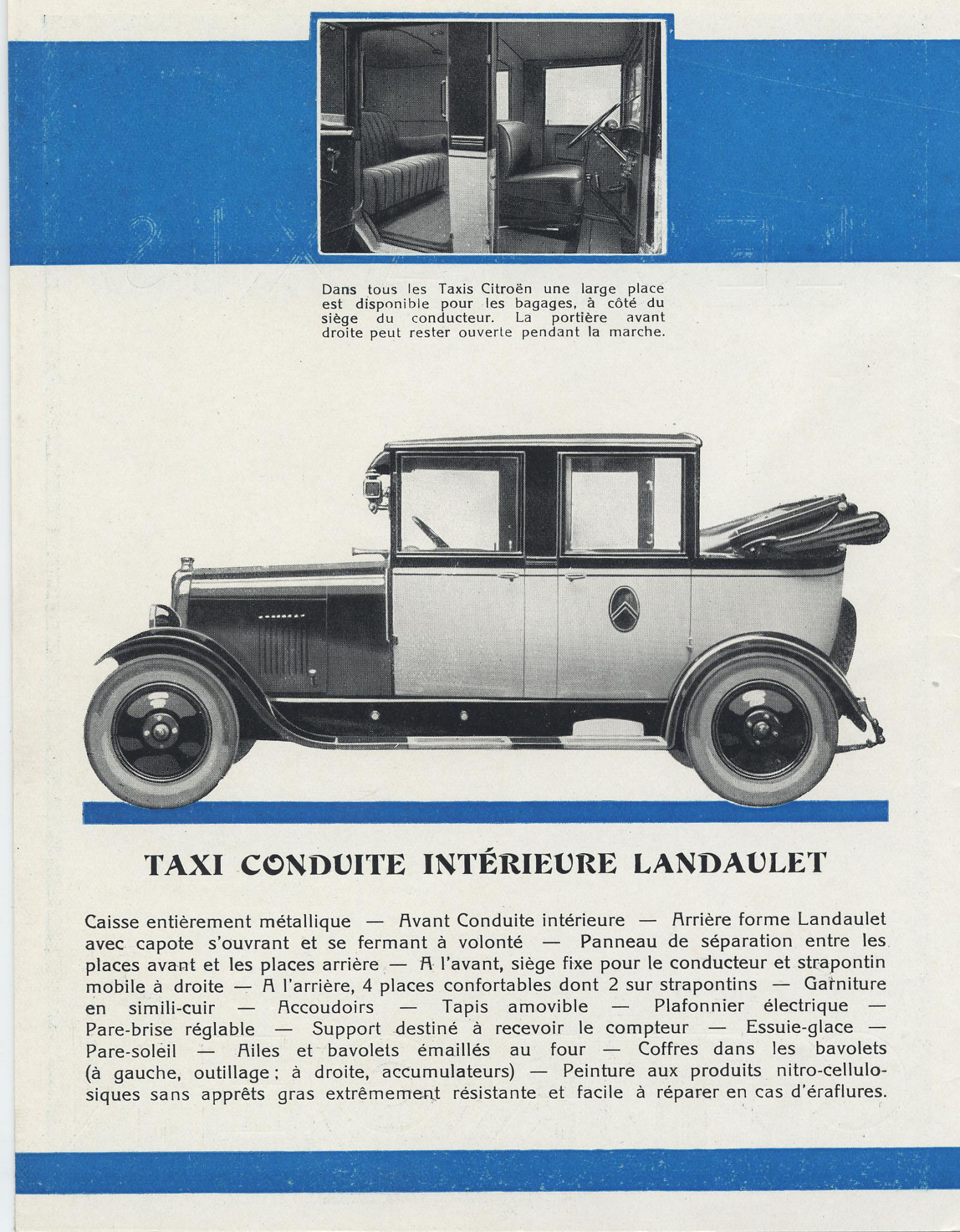 Brochure Taxis 10 HP