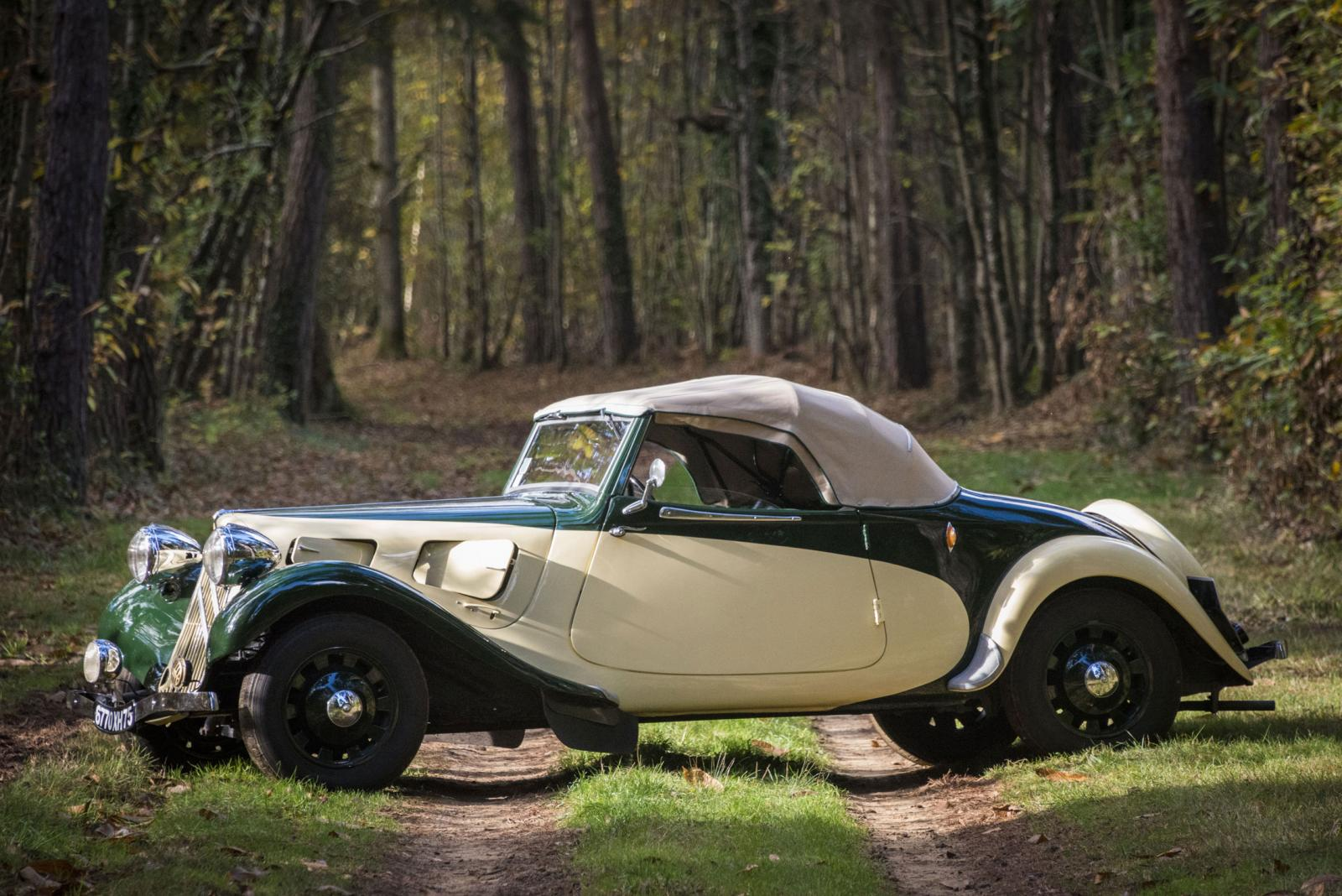 Traction 11 cv cabriolet 1937