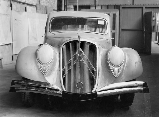 Maquette de la Traction 22 1934