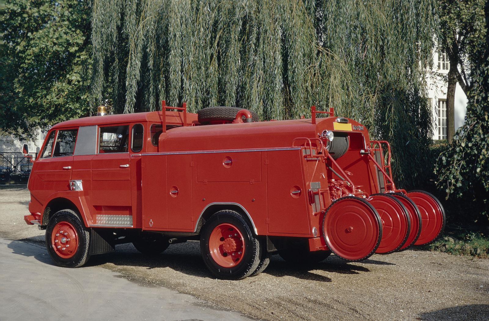 タイプ 350トラック 消防用 - 1968年