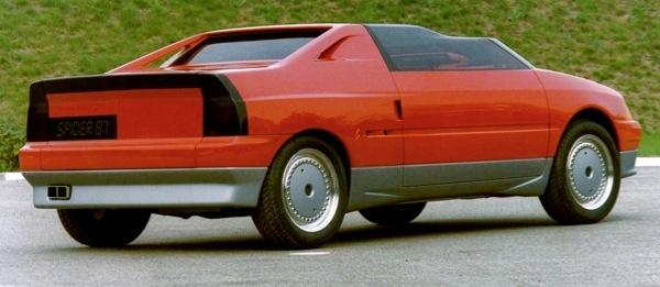 AXXanthia Concept-Car de 1986 sur la base de l'AX