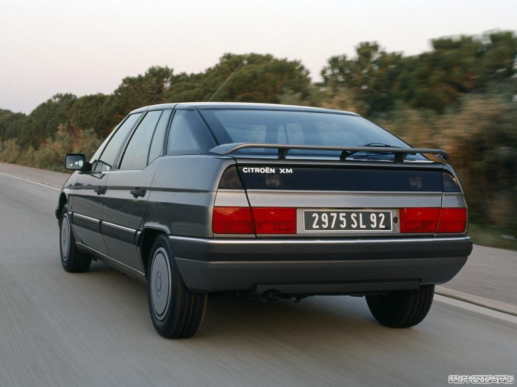 XM injection 1991 3/4 arrière