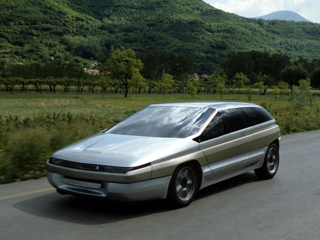 Zabrus 1986 concept par Bertone sur base BX
