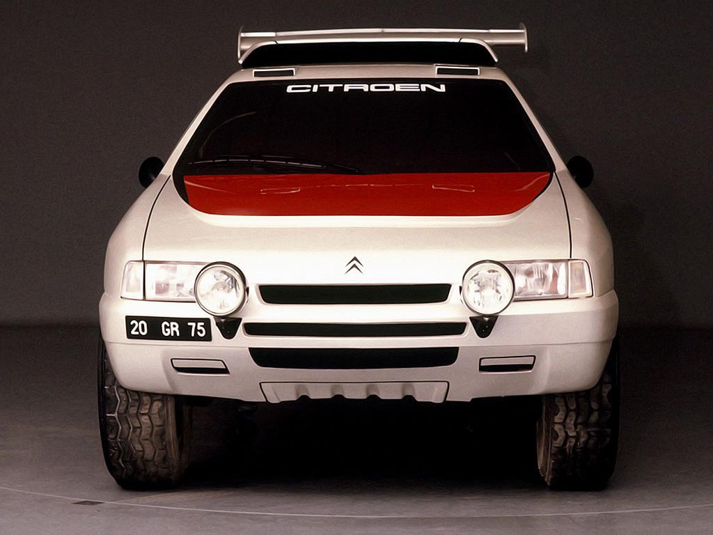 ZX Rallye Raid prototype 1990 face avant